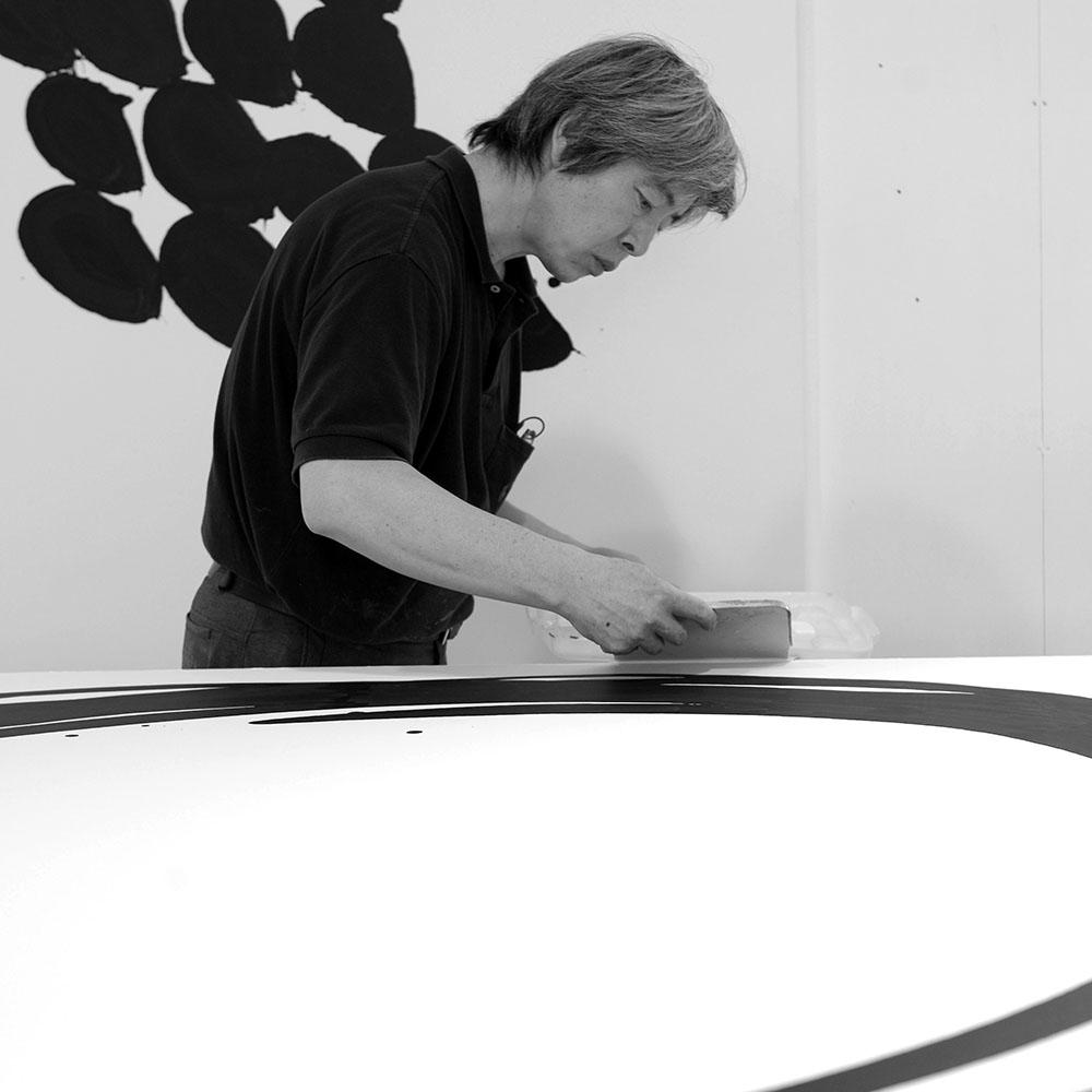 Lee Bae, Atelier, Paris, 2011